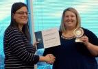 Dr Andrea Franklin-Winner of International Speech Contest